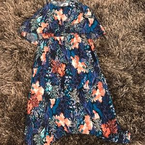 🌟OLD NAVY🌟 adorable size 8 blue/peach dress 👗
